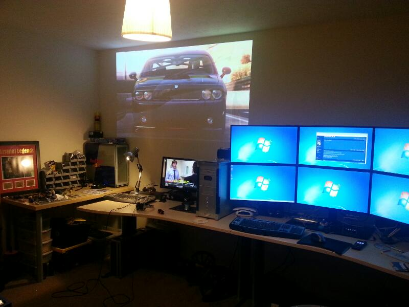 Man Cave Leeds : Desk and room gallery page overclockers uk forums
